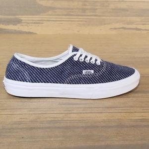 Vans Authentic Navy Blue/White Sneakers